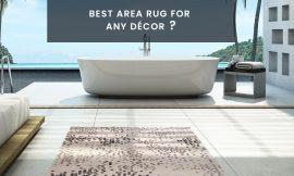 Best Bath Area Rug For Your Bathroom