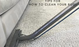 How To Clean A Wool Rugs or Carpet Yourself